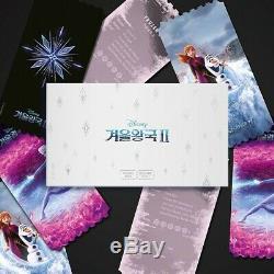 Disney Frozen2 Korea Mega Box Original Cinema Limited Movie Ticket Special Book
