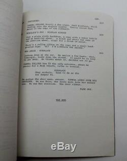 Dogfight / Bob Comfort 1989 Movie Script Screenplay, River Phoenix romance