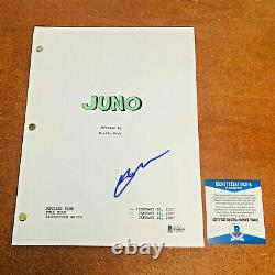 ELLEN PAGE SIGNED JUNO FULL MOVIE SCRIPT SCREENPLAY with PROOF BECKETT BAS COA