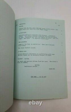 ELVIRA MISTRESS OF THE DARK / Sam Egan 1988 Screenplay, Cassandra Peterson film