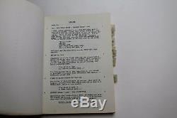 ELVIS / Anthony Lawrence 1978 TV Movie Script Screenplay, John Carpenter film