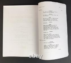 Eddie Murphy Autograph Signed Beverly Hills Cop Full Movie Script JSA