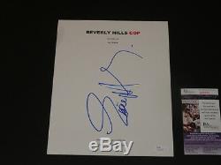 Eddie Murphy Signed Beverly Hills Cop Full Movie Script Autographed Jsa Coa