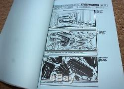 FAST AND FURIOUS 4 PAUL WALKER Original Movie Storyboards Script Cast & Crew