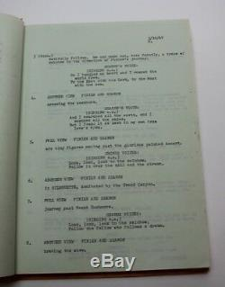 FINIAN'S RAINBOW / E. Y. Harburg 1967 Movie Script Musical, Francis Ford Coppola