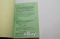 FREE WILLY / 1992 Original Movie Script Screenplay, Jason James Richter