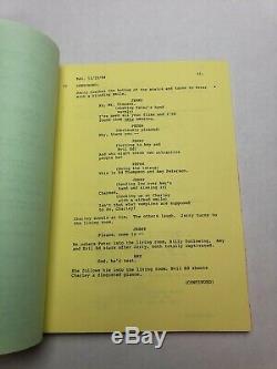 FRIGHT NIGHT / Tom Holland 1984 Screenplay, Chris Sarandon HORROR FILM