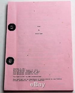 FURY 2013 Movie Script Screenplay, Small Pocket Size Brad Pitt, Shia LaBeouf