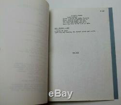 FUTUREWORLD / Mayo Simon 1974 Screenplay, Sci-Fi film Sequel to WESTWORLD