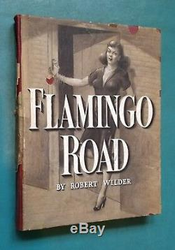 Flamingo Road Authentic Movie Prop Book For Titles Joan Crawford Warner Brothers