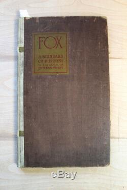 Fox Studios (1926) US Movie Studio Exhibitor Book (9.5 x 15.75)