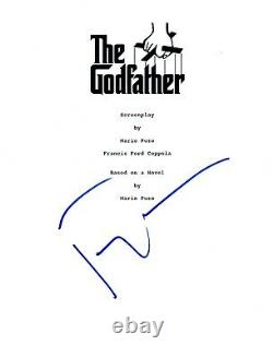 Francis Ford Copolla Signed Autographed The Godfather Movie Script COA