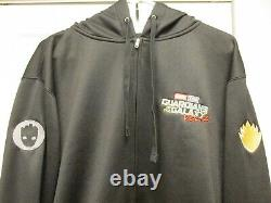 Free Signed Promo Book + Guardians Of The Galaxy New XL Marvel Film Crew Hoodie