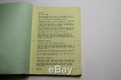 Free Willy 1992 Original Movie Script Screenplay Jason James Richter