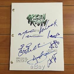 GREEN ROOM SIGNED MOVIE SCRIPT BY +7 CAST withPROOF IMOGEN POOTS ANTON YELCHIN