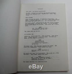 GREMLINS / Chris Columbus 1982 Movie Script Screenplay, mischievous monsters