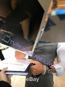 GUY PEARCE SIGNED MEMENTO FULL MOVIE SCRIPT SCREENPLAY with BECKET BAS COA PROOF