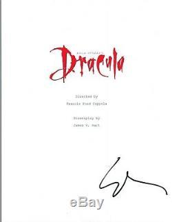 Gary Oldman Signed Autographed BRAM STOKER'S DRACULA Full Movie Script COA