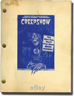 George A. Romero CREEPSHOW Original screenplay for the 1982 film 1979 #142565