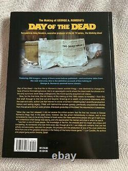 George Romero The Making of Day of the Dead horror movie Book Signed x 12 Zombie
