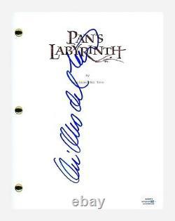 Guillermo Del Toro Signed Autographed Pan's Labyrinth Movie Script ACOA COA