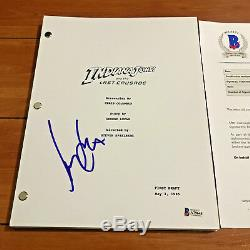 HARRISON FORD SIGNED INDIANA JONES AND THE LAST CRUSADE BACK MOVIE SCRIPT w COA