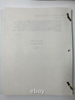HART TO HART Two Harts in Three-Quarter Time Original TV Movie Script