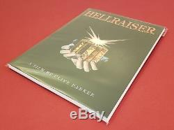 HELLRAISER A Film Screenplay Book Signed Autographed & Sketch Art Clive Barker