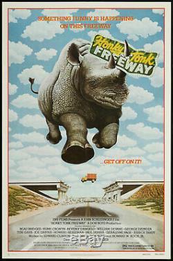 HONKY TONK FREEWAY / Edward Clinton 1981 Screenplay, safari park comedy film