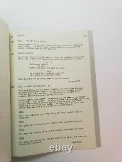 HOUSE OF CARDS / Harriet Frank Jr. 1967 Screenplay, Orson Welles mystery film