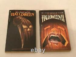 Halloween Michael Myers Movie Tie-In PB Book Lot Richards Martin Grabowsky