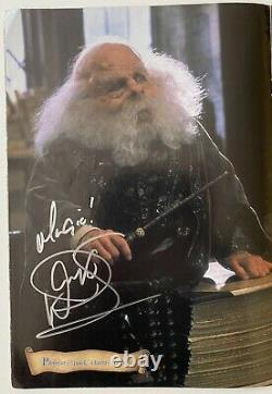Harry Potter Signed Movie Poster Book JSA ACOA Alan Rickman Emma Watson 16 Sigs