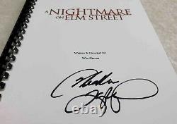 Heather Langenkamp Nancy Signed Movie Script A Nightmare on Elm Street 1984