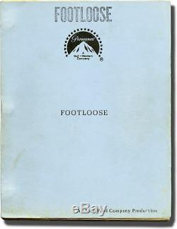 Herbert Ross FOOTLOOSE Original screenplay for the 1984 film 1983 #140449