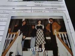 Hole Courtney Love People V Larry Flint Film Wardrobe Plot Book Page & Polaroid
