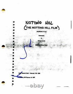 Hugh Grant Signed Autograph Notting Hill Full Movie Script Julia Roberts