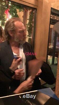 Hugo Weaving Signed Autograph V For Vendetta Classic Movie Script Proof Bas