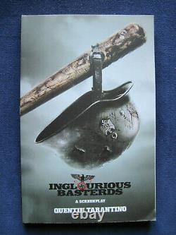 INGLORIOUS BASTERDS Script SIGNED by QUENTIN TARANTINO