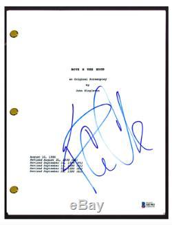 Ice Cube Signed Autographed BOYZ N THE HOOD Full Movie Script Beckett BAS COA