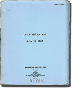 Irvin Kershner FLIM-FLAM MAN Original screenplay for the 1967 film 1966 #117164