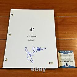 JAMES CAAN SIGNED ELF FULL 121 PAGE MOVIE SCRIPT SCREENPLAY with BECKETT BAS COA