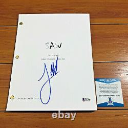 JAMES WAN SIGNED SAW FULL PAGE MOVIE SCRIPT with BECKETT BAS COA