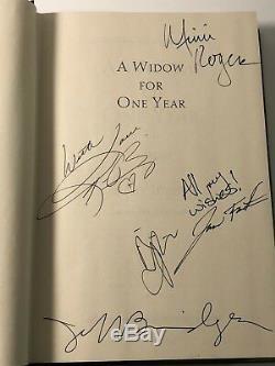 JOHN IRVING, Book signed by Film Cast Jeff Bridges, Kim Basinger, Bijou Phillips