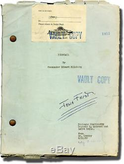 Jack Conway HELL BELOW PIGBOATS Original screenplay for the 1933 film #137376