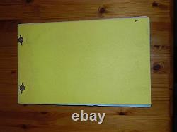 James Bolam The Likely Lads Genuine Original Post Production Movie Script 1976