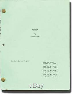 Jan de Bont SPEED Original screenplay for the 1994 film 1993 #142455