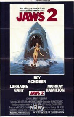 Jaws 2 / Carl Gottlieb 1977 Movie Script Screenplay, monstrous shark Horror Film