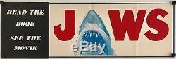 Jaws Original 1975 Book & Movie Poster/Flyer ULTRA RARE
