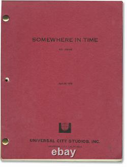 Jeannot Szwarc SOMEWHERE IN TIME Original screenplay for the 1980 film #128655