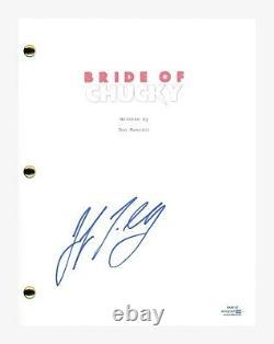 Jennifer Tilly Signed Autographed BRIDE OF CHUCKY Movie Script ACOA COA